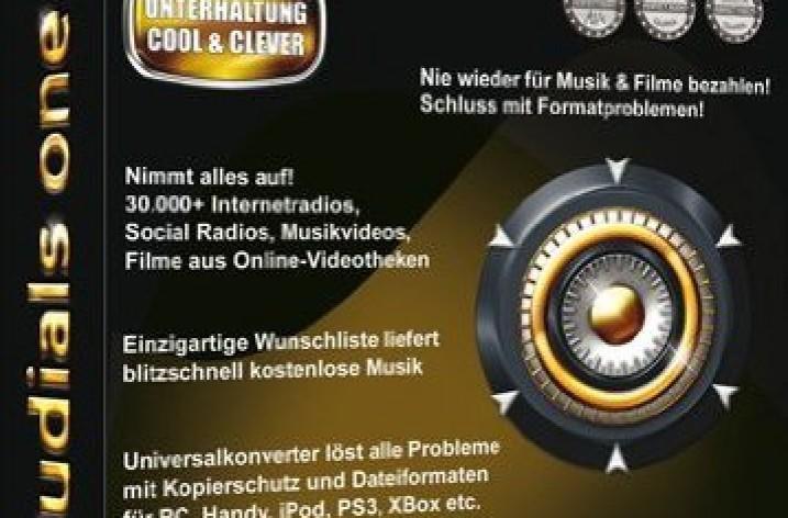 Audials One 8: Kostenlose Musik aus dem Internet laden