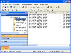 ID3-TagIT ist ein kostenloser Editor für ID3-Tags.
