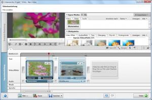 Videobearbeitung in Nero 11