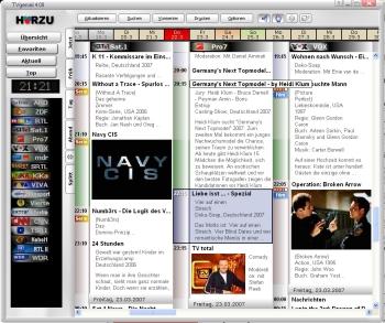 kostenlose Fernsehzeitung für den PC Desktop