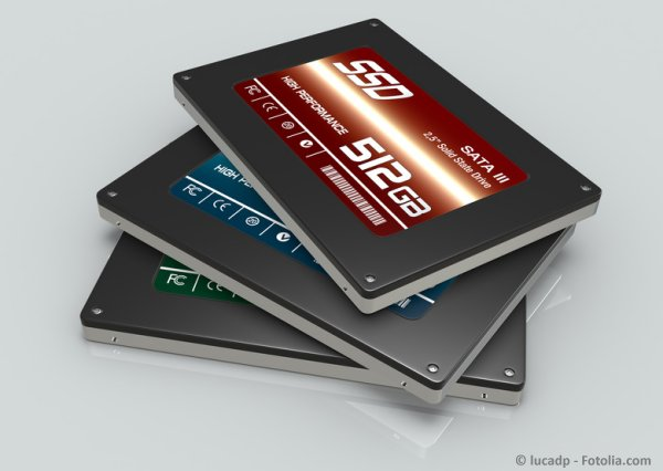 SSD-Festplatte Solid-State-Drive