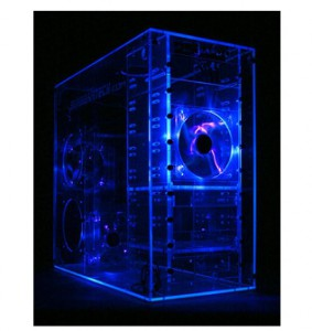 Sunbeam Acryl Midi Tower 9 Bay Blue