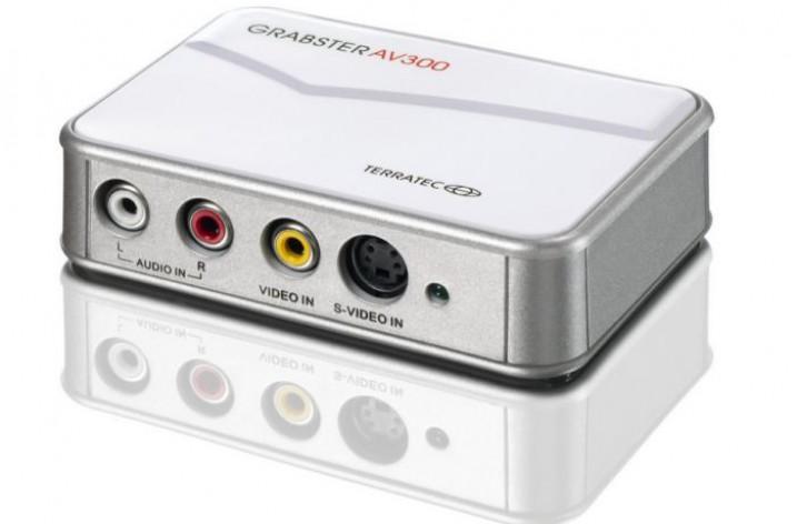 TERRATEC Grabster AV 300 MX: VHS-Videos digitalsieren